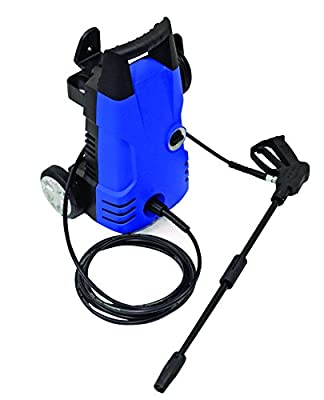 Pre1 - Prem-i-air Elite Pw1600 High Powered 135 Bar Pressure Washer 1600w Includes Lance, Suction Unit, Hose & Water Connection Kit by Prem-I-Air