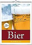Wochenwandkalender: Bier-Kalender 2019. Vierfarbig, Format 24 x 32 cm