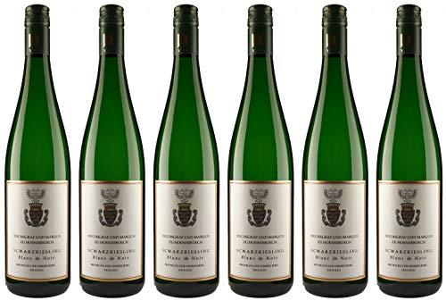 Reichsgraf und Marquis zu Hoensbroech Schwarzriesling Blanc de Noir 2014 Trocken (6 x 0.75 l)