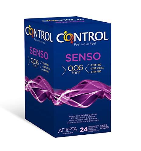 Control Senso Preservativos - Pack de 24 preservativos