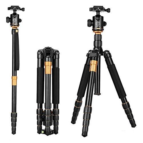 Hoeveelheid: 88 compact lichtgewicht aluminium statief, draagbare camera monopod met 360 graden draaiende bolvormige kop