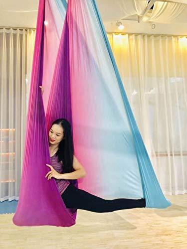 Ksde Aerial Anti-zwaartekracht Yoga Hangmat Swing Vliegende Yoga Bed Bodybuilding Gym Fitness Apparatuur Inversie Trapeze