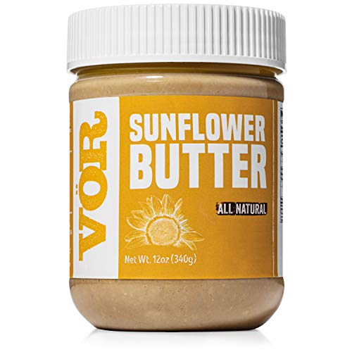 Vör All Natural Sunflower Seed Butter (12oz)   Only One Ingredient   Vegan, Paleo, Keto, Whole 30
