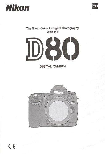 Nikon D80 Original Instruction Manual