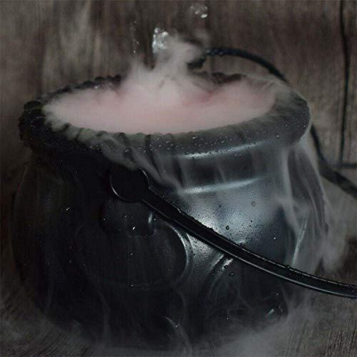 BDFA 12 LED-Nebel-Hersteller Wassernebel Halloween-Party-Hexe-Kessel-Nebel-Hersteller Rauch Nebelmaschine