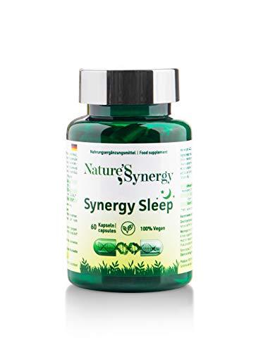 Synergy Sleep. Synergy Formulation for Better Sleep. Sleeping Tablets for Adults