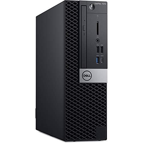 Dell OptiPlex 7070 Desktop Computer - Intel Core i7-9700 - 16GB RAM - 256GB SSD - Small Form Factor