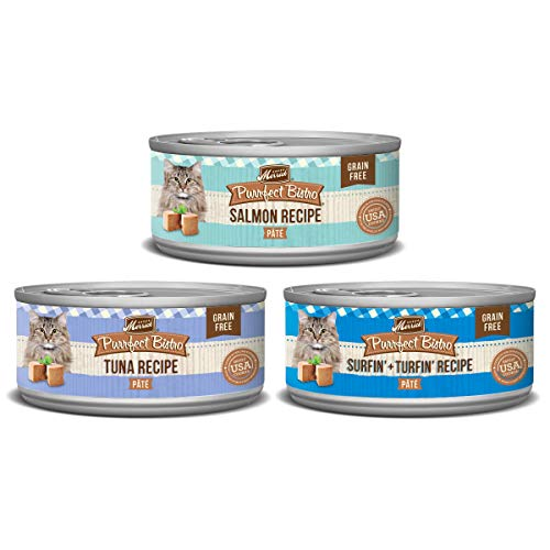 Merrick Purrfect Bistro Seafood Variety Canned Cat Food