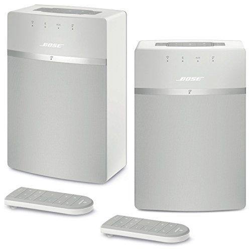 Bose SoundTouch 10 Wireless Music System Bundle 2-Pack - White