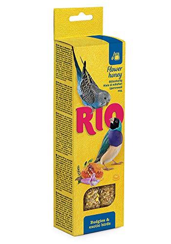 RIO Sticks für Wellensittiche und exotische Vögel mit Honig, 80 g