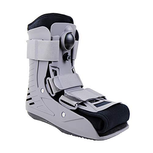 Mouwa Fit Air Walker Stiefel, Ultra Short Air Walker Fracture Stiefel Ideal Für Knöchel/Fuß Frakturen Verstauchungen Verletzungen Erholung Schutz Rehab,L