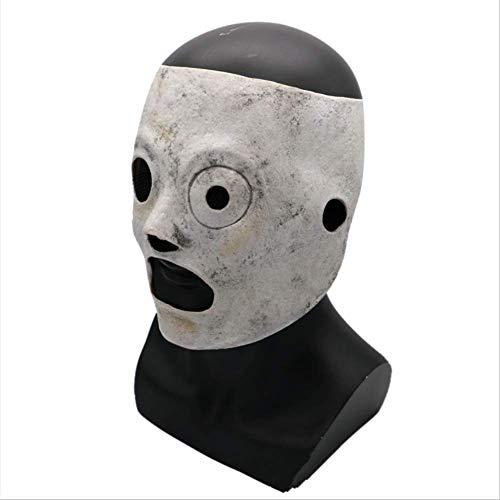 LIBOYUJU Halloween Filmthema Maske Requisiten Horror Maske Slipknot Joey Maske Livek Band Maske