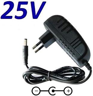 CARGADOR ESP ® Cargador Corriente 25V Reemplazo Electrolux ergorapido 14.4V & 18V SSA-18P-20 EU 250050 Recambio Replacement