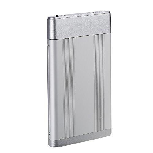 Bipra One Touch - Disco duro externo (FAT32) plata 250GB miniatura