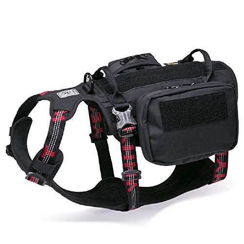 Chai's Choice Rover Scout High Performance Tactical Backpack - Service Dog Harness. Dupont Cordura Waterproof Fabric
