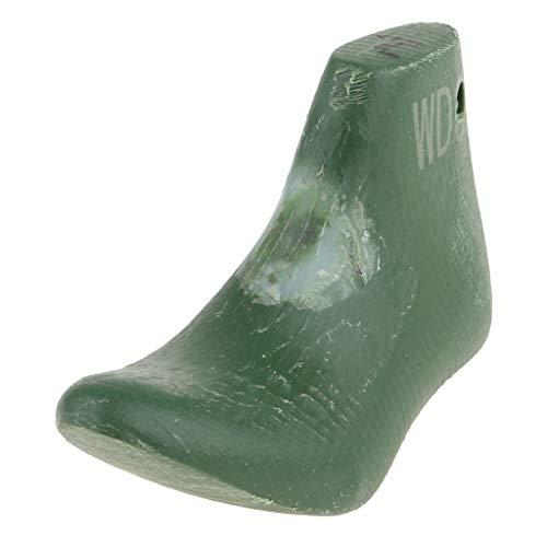 freneci Molde de Plástico para Hormas de Zapatos para 18 '' American Doll Zapatos de Tacón Alto Accs Green
