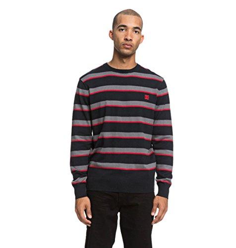 DC Shoes Sabotage Stripe - Jumper for Men - Pullover - Männer - M - Schwarz