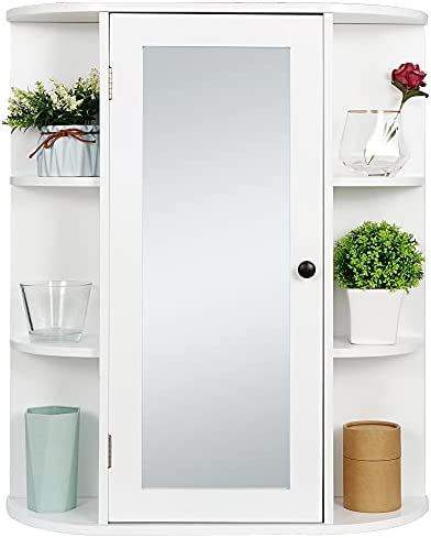 Top 10 Best white medicine cabinet with mirror Reviews