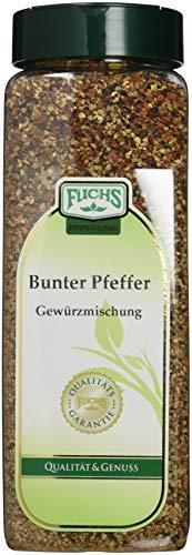 Fuchs Bunter Pfeffer Gewürzmischung GV, 2er Pack (2 x 550 g)