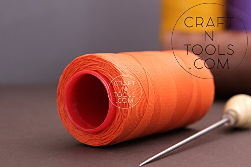 Buy Discount 0.6mm Orange Ritza 25 Tiger Waxed Polyester Thread 25 - 1000m length (75m). Julius Koch...