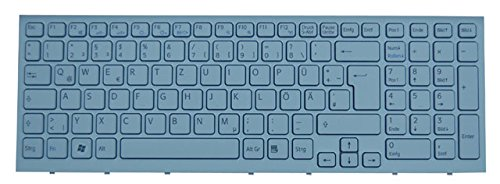 Original Tastatur Sony Vaio PCG-71211M Serie Weiss DE Neu mit Rahmen