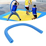 Palo de natación, Palo de Espuma de Agua multifunción Flotante de Agua de Piscina para Suministros de Agua para Juegos con los Ojos vendados(Hollow 6.5 * 150CM, Dark Blue)