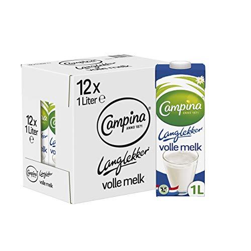 Campina Langlekker Volle Melk (12x1L Pak)