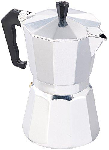 Cucina di Modena Espressokanne: Espressokocher für 6 Tassen, für Induktions-Herde geeignet, 300 ml (Espresso Induktion)