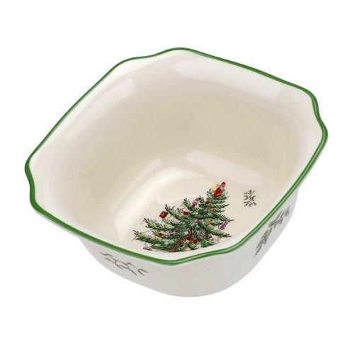 Spode Christmas Tree Square Bowl