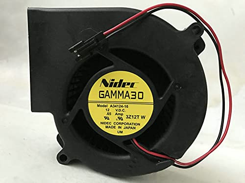 for Nidec GAMMA30 A34124-16 Sale Ranking TOP3 SALE% OFF DC12V Centrifugal 9733 0.65A Blower