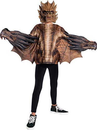 Rubie's Godzilla King of The Monsters Child's Deluxe King Ghidorah Costume, Large