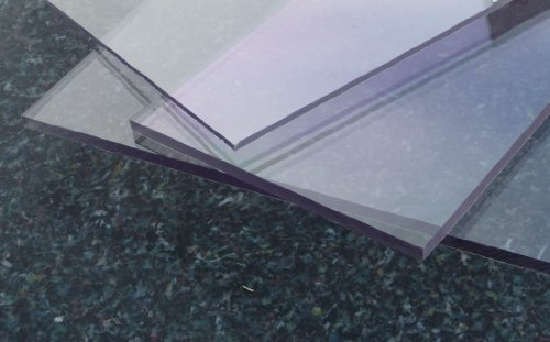 Polycarbonat UV Platte farblos 2050 x 1250 x 5 mm transparent, PC alt-intech®