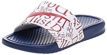 Nike Women s WMNS Benassi JDI Print Flip-Flop Deep Royal Blue/University Red/White 4.5 UK