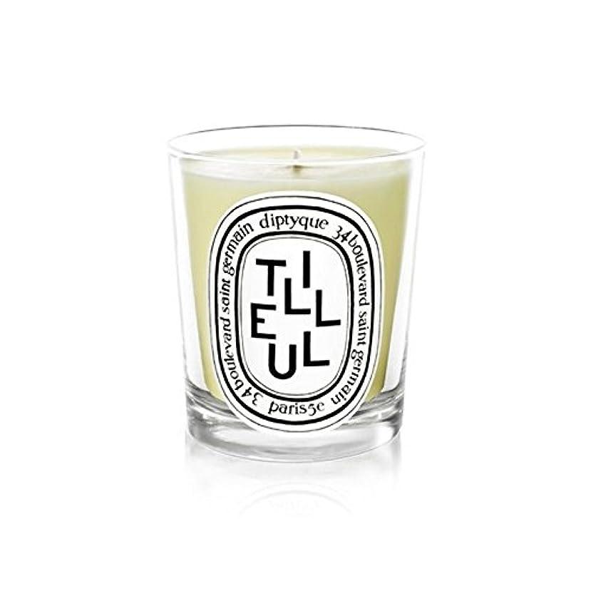 花コーチうれしいDiptyque Candle Tilleul / Linden Tree 190g (Pack of 6) - DiptyqueキャンドルTilleulの/菩提樹の190グラム (x6) [並行輸入品]