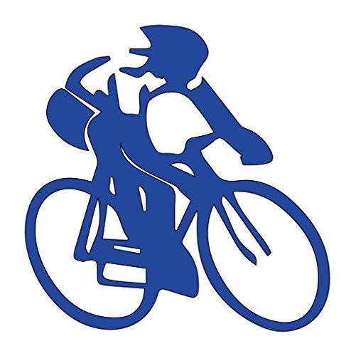 Aufkleber für Rennrad – Vinyl – 14 cm B x 8,4 cm H blau HGC1556.04