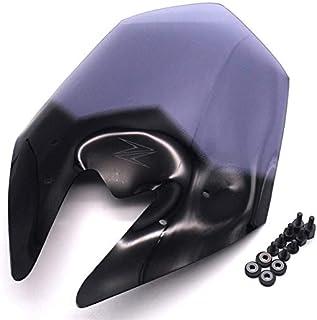 Fast Pro motocicletta nero parabrezza schermo ABS Shield per Kawasaki Z800/Z 800/2013/ /2016