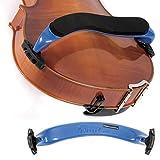 """Everest ES Blue 15""""-16 1/2"""" Viola Adjustable Shoulder Rest"""