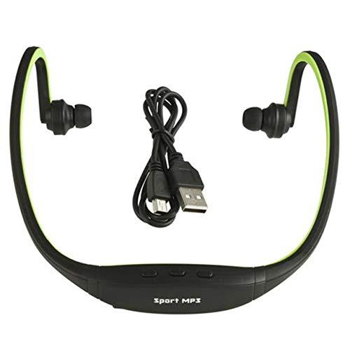 DBSUFV Deportes Profesional Inalámbrico Correr Jugar Outdroor Auriculares Reproductor de música MP3 Auriculares Auriculares Auriculares Ranura para Tarjeta TF