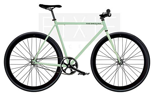 Bicicletta monomarca Single Speed Fix 2 - Turchese T-56 cm