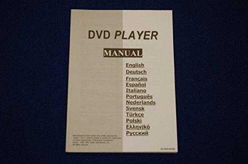 Unbekannt SEG DVD Player Manual 530 Benutzerhandbuch