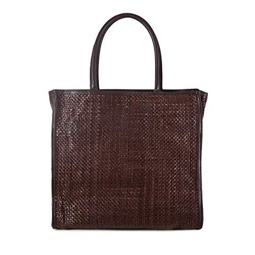 Tosca Blu Shopping bag Geranio, Unica, Marrone