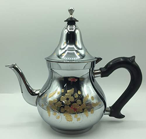 Orientalische Teekanne Arabische Minze aus Marokko 800 ml (PLATA-8)
