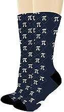 Nerdy Gifts for Math Majors Pi Socks Algebra Socks Math Themed Gifts 1-Pair Novelty Crew Socks