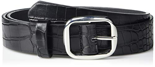 The Drop Women's Toni Oval Buckle Belt