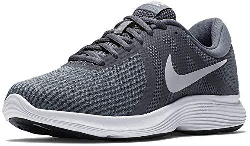 Nike Damen WMNS Revolution 4 EU Sneakers, Mehrfarbig (Dark Pure Platinum/Cool Grey/White 001), 40