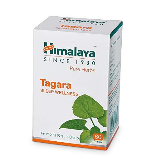 Himalaya Wellness Pure Herbs Tagara Sleep Wellness | Promotes Restful Sleep | – 60 Tablets