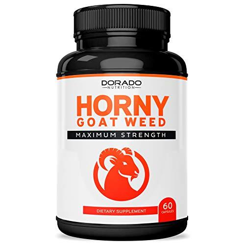 Premium Horny Goat Weed 1000mg [Extra Strength] Supplement l L-Arginine l Tribulus, Maca Root, Yohimbine, Muira Puama l Panax Ginseng l Men or Women - USA Made - 60 Capsules