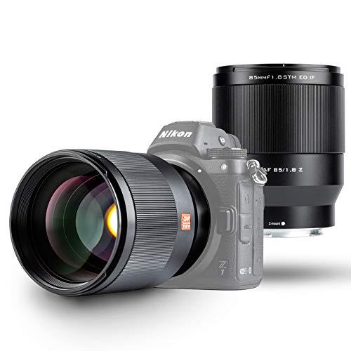 VILTROX AF 85mm F1.8 STM Vollformat Autofokus Prime Objektiv Portrait für Nikon Z Mount Z5 Z6 Z7 Z6 II Kameras