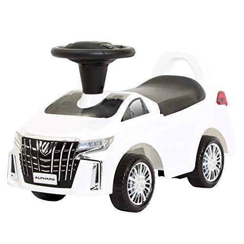 [ミズタニ] 乗用玩具 トヨタ アルファード TOYOTA ALPHARD ホワイト J-AHW