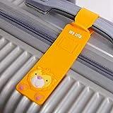 Accesorios De Viaje Gel De Sílice EquipajeID DeEtiqueta De MaletaTitular De Dirección Identificador De Etiqueta De Equipaje Cute Cartoon Hello Kitty Duck, 2